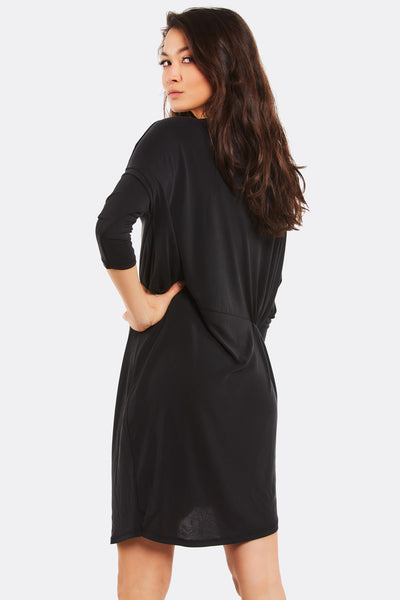 Black Modal Blend Dress