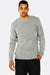 Light Grey Fine Knit Sweater