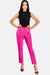 Fuchsia Straight Trousers