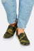 Green Camo Slip On Shoes