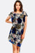 Multicolour Floral Printed Dress