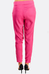 Pink Trousers With Side Pockets