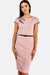 Pastel Pink Dress With Belt