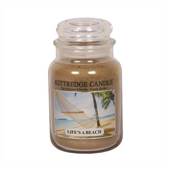 Life's A Beach Kittredge 23oz Candle Jar