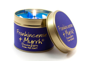 Frankincense & Myrrh Scented Candle