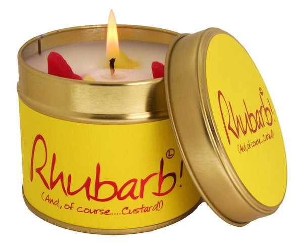 Rhubarb Scented Candle
