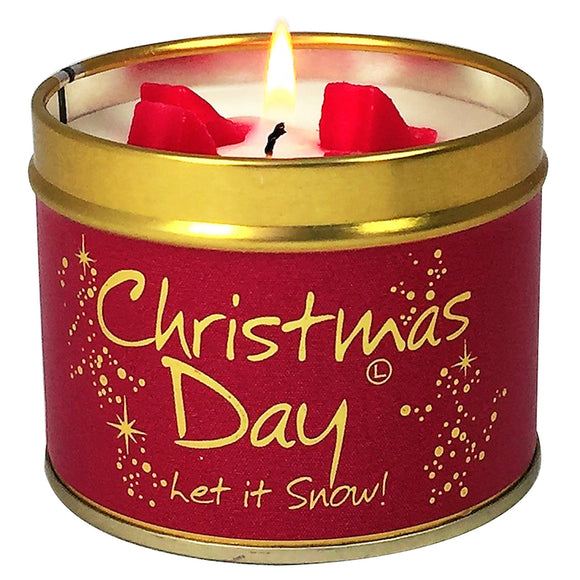 Christmas Day Scented Tin