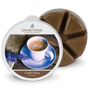 Coffee Shop Goose Creek Scented Wax Melts
