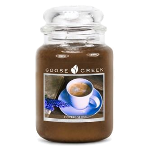 Coffee Shop Goose Creek 24oz Scented Candle Jar