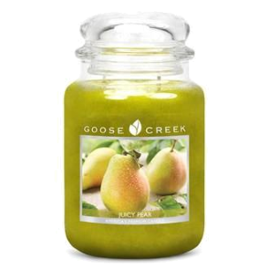 Juicy Pear Goose Creek 24oz Scented Candle Jar