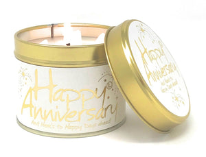 Happy Anniversary Candle Tin