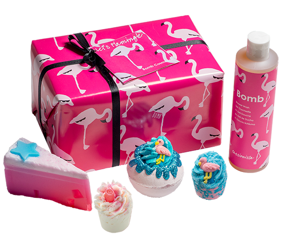 Let's Flamingle Gift Pack