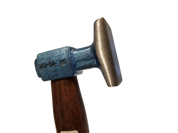 Auto Body  Planishing Bumping Hammer Flat Smooth Single Face by Picard 2525402 - Blacksmith Source Tool Company