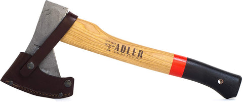 Adler Rheinland Hatchet Axe - Backwoods Bushcraft - Blacksmith Source Tool Company