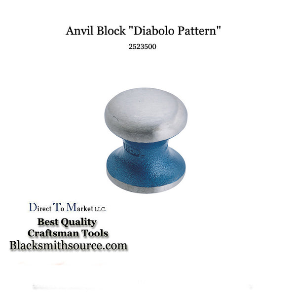 Automotive Bumping Tool Diablo anvil block dolly 2523500 dent repair - Blacksmith Source Tool Company