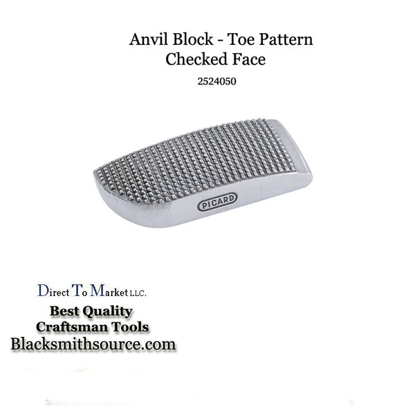 Auto Body Bumping Dolly face checkered anvil block tool 2524050