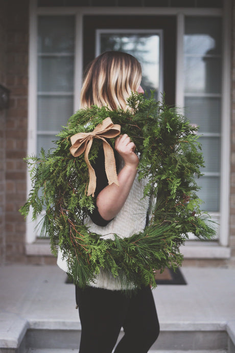 Oh Christmas Wreath - Large