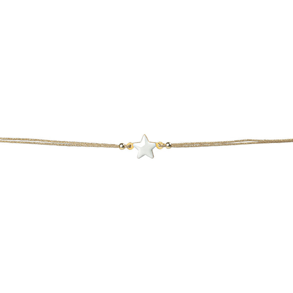 White Star String Bracelet