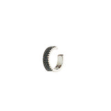 Black Band Pave Earcuff