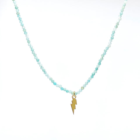 Agata Verde Acqua Necklace