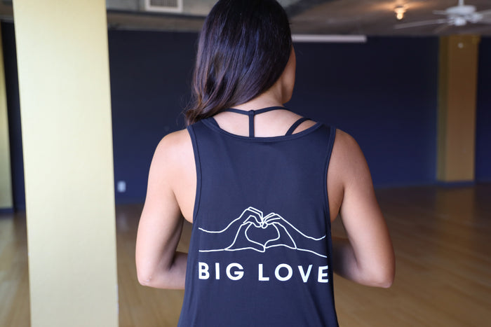 BIG Love Heart Hands V-Neck Tank