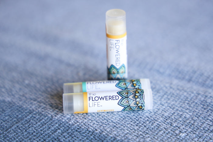 The Flowered Life Lip Balm