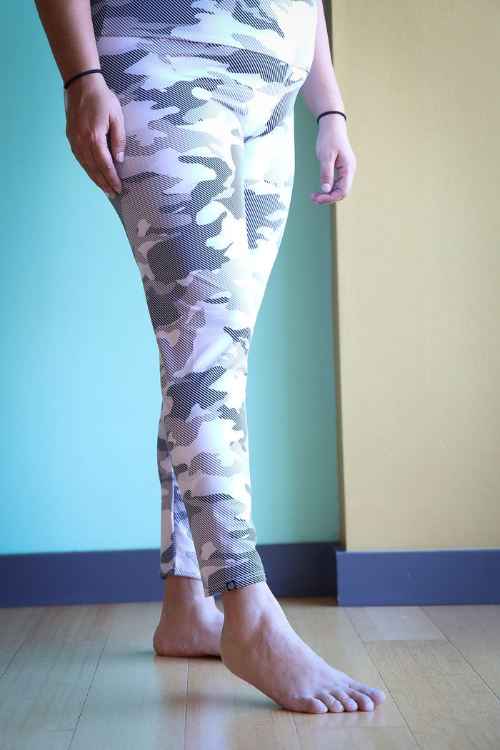 High Basic Midi Legging