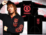 NJPW Los Ingobernables de Japon Red & Black Hoodie