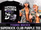 The Young Bucks Official Superkick Club T-shirt