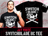 Switchblade Jay White Bullet Club T-shirt - ad