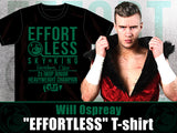 NJPW WIll Ospreay Effortless T-shirt ad