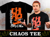 "Chaos ""Strongest Style"" T-shirt - okada ad"