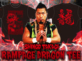 NJPW LIJ Shingo Rampage Dragon T-shirt - New Japan Pro Wrestling