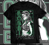 First official Bobbi Tyler T-shirt TCS
