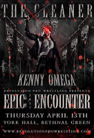 Epic Encounter 2017 poster with Kenny Omega