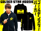 NJPW New Japan Pro Wresting's IWGP Intercontinental and Heavyweight Champion, Kota Ibushi with his The Golden Star Hoodie