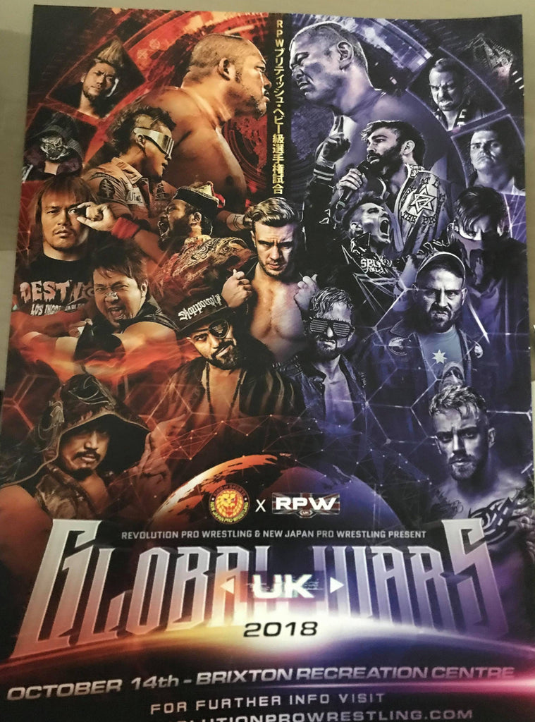 Global Wars UK 2018 Poster