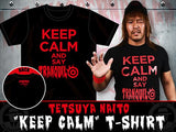 "Naito ""Keep Calm"" Black T-shirt"
