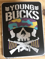 Young Bucks Sticker