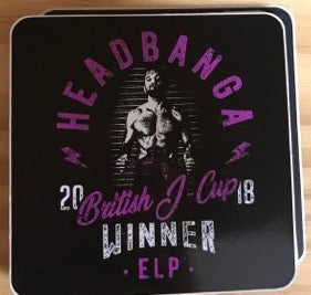 ELP 'Headbanga' Sticker