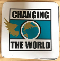 Kenny Omega Changing the World Sticker