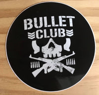 Circle Bullet Club Sticker