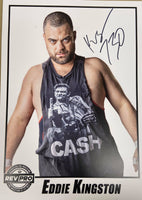 Mad King Eddie Kingston Signed photo