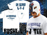 Bushi White x Navy LIJ T-shirt