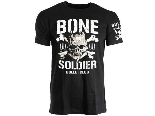 Show your support for the Bone Soldier of the Bullet Club, Taiji Ishimori, by grabbing his brand new t-shirt, styled after the classic BC logo from New Japan