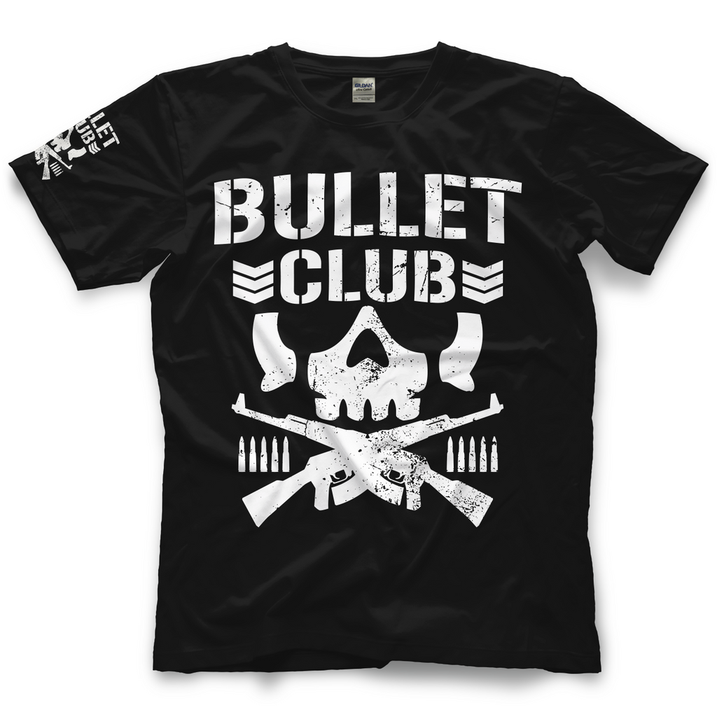 New Japan Pro Wrestling's Classic Bullet Club T-shirt