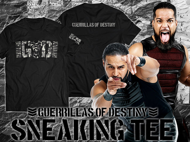 Show your support for New Japan Pro Wrestling's most dominant Tag Team, 7x IWGP Tag Team Champions Guerrillas of Destiny! GOD