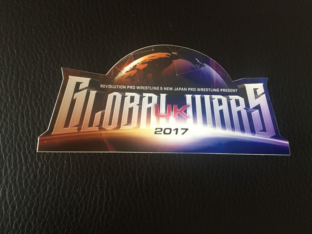 Global Wars UK 2017 Sticker