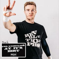 Will Ospreay in Revolution Pro Graffiti T-shirt