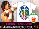 LIJ's Ticking Time Bomb, Hiromu Takahashi  New Japan Pro Wrestling official Takahashi T-shirt